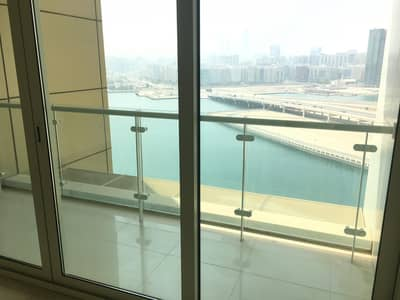 3 Bedroom Flat for Rent in Al Reem Island, Abu Dhabi - Sea View 3 Beds w/ Maids room and Balcony