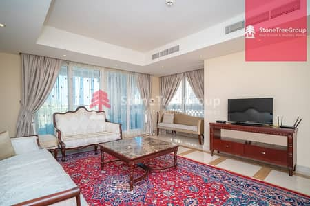 5 Bedroom Villa for Rent in Palm Jumeirah, Dubai - Spacious Villa in Palm Jumeirah | Taj Grandeur Residence |  No Commission!