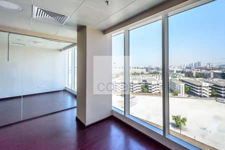 Office for Rent in Al Hudaiba, Dubai - High Floor | Fitted Office | Chiller Included