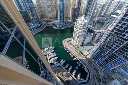 1 Bedroom Apartment for Sale in Dubai Marina, Dubai - Adorable 1 Bed | Stunning View | High Floor
