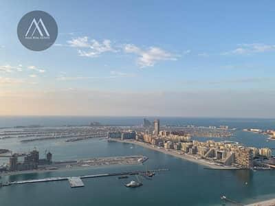 شقة 4 غرف نوم للبيع في دبي مارينا، دبي - Panoramic  Sea - Marina View- Upgraded