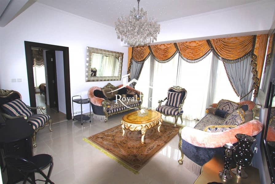 2 Fully furnished 1BR   Marina view   Silverene Tower B