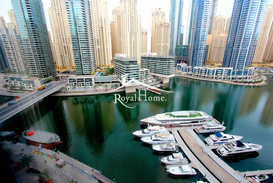 10 Fully furnished 1BR   Marina view   Silverene Tower B