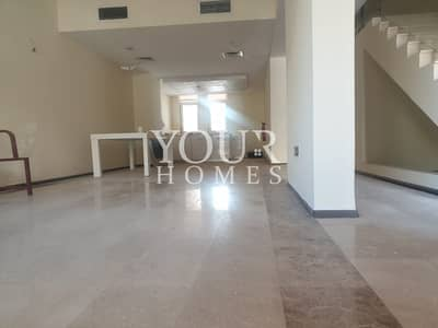 4 Bedroom Townhouse for Rent in Jumeirah Village Circle (JVC), Dubai - US | Ground floor + 2Floor + Rooftop +Pool View