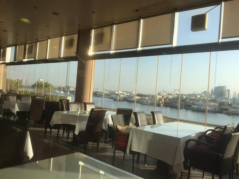 2 Creek View Restaurant available for Lease with Terrace