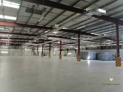 Big Warehouse for Storage and Factory for Affordable