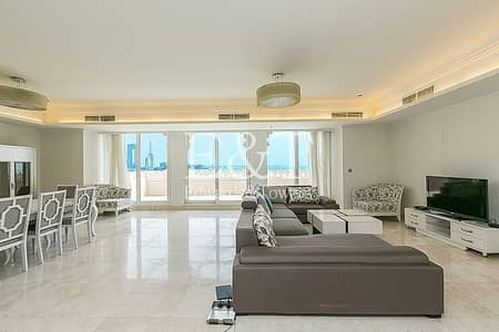 3 Bedroom Penthouse for Rent in Palm Jumeirah, Dubai - 3 BR Penthouse