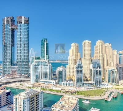 شقة 2 غرفة نوم للبيع في دبي مارينا، دبي - Hot Deal Marina and Sea view 2BR Closed kitchen