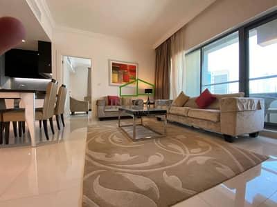 شقة 1 غرفة نوم للايجار في الخليج التجاري، دبي - Pool View | Furnished Large 1B/R Capital Bay