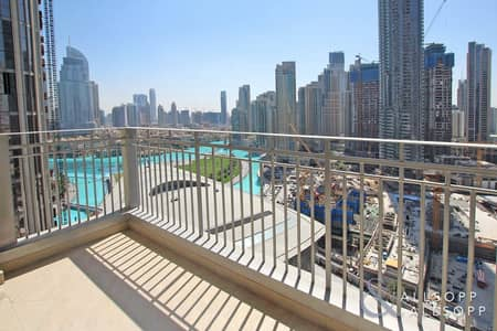 1 Bedroom Apartment for Sale in Downtown Dubai, Dubai - Partial Fountain View | One Bed | Rented