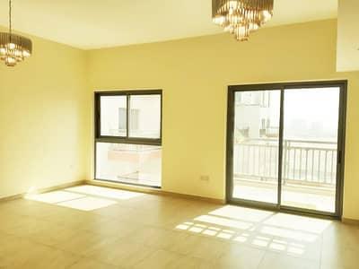 2 Bedroom Flat for Rent in Al Furjan, Dubai - Maidroom | Pool View | Kitchen Appliances