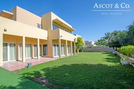 5 Bedroom Villa for Rent in Arabian Ranches, Dubai - 5 Bedrooms | Open Plan Villa | Park View
