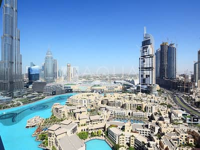 3 Bedroom Flat for Sale in Downtown Dubai, Dubai - 3 Bed with Burj Khalifa View | High Floor