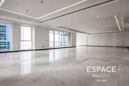 شقة 3 غرف نوم للايجار في دبي مارينا، دبي - Sea View | Vacant | 3 Bedrooms plus Maids
