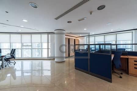 مکتب  للايجار في أبراج بحيرات الجميرا، دبي - Beautifully Furnished Office Near Metro in JLT - Cluster C