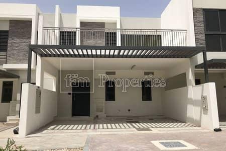 3 Bedroom Townhouse for Sale in Akoya Oxygen, Dubai - Brand New 3+Maid   Villa   Mid Unit   Coursetia