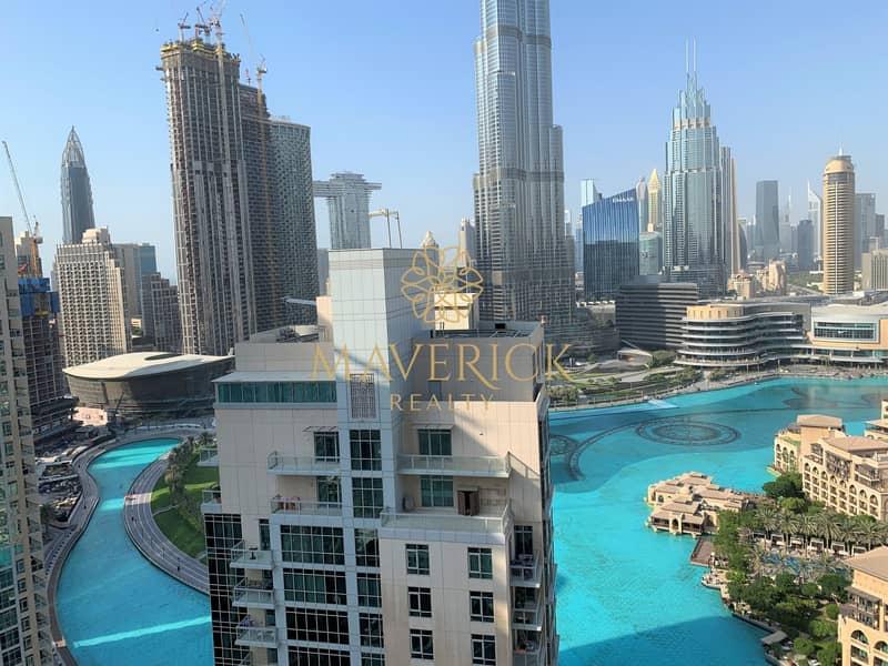 2 Full Burj+Fountain View   Chiller Free 2BR