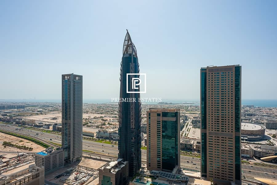 12 DIFC and Sea View  Maids room  Higher Floor