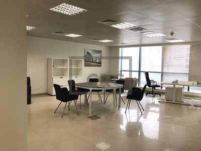 مکتب  للايجار في أبراج بحيرات الجميرا، دبي - Furnished Office   Low Floor