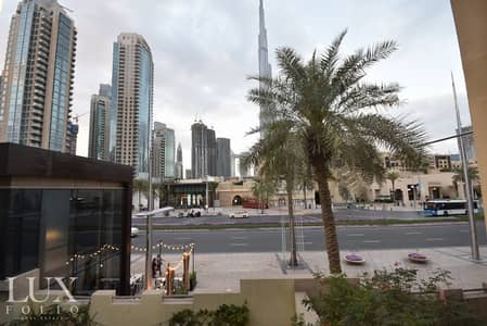 1 Bedroom Flat for Rent in Old Town, Dubai - OT Specialist   Full Burj View   Unfurnished