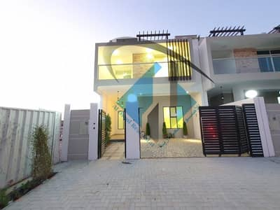 5 Bedroom Villa for Sale in Al Zahia, Ajman - New Villa On the main road For Sale High Quality finish and good Location very good price ready to move.