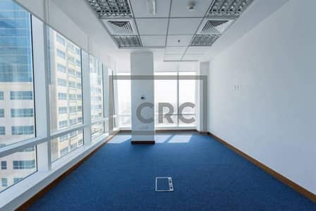Office for Sale in Jumeirah Lake Towers (JLT), Dubai - Fully Fitted|High Floor|3 parkings|Beautiful 3 Partitions