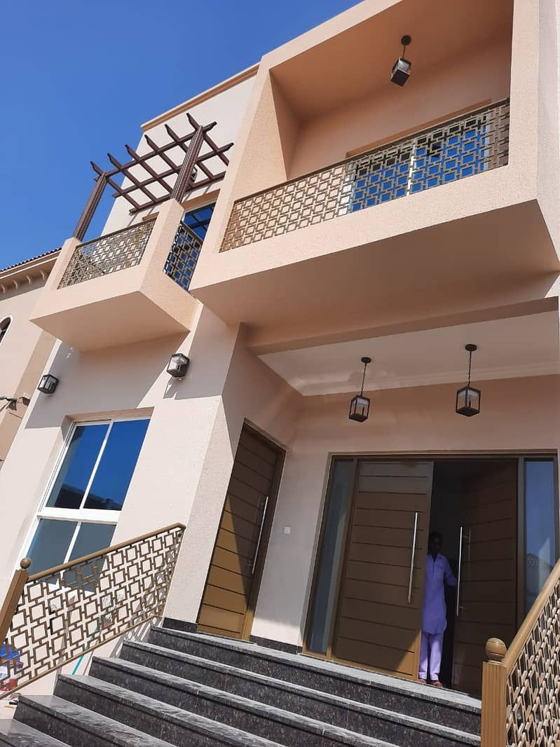 HOT OFFER ! 5BHK NEW VILLA FOR RENT IN AL RAWDA NEAR SHEIKH AMMAR ROAD ( ONLY FOR ASEAN FAMILY)