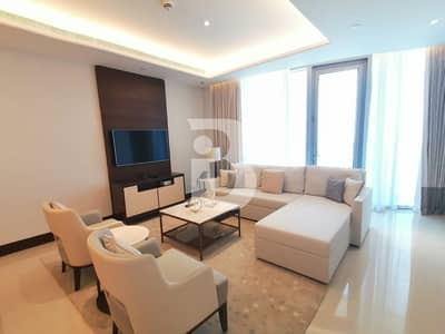 2 Bedroom Hotel Apartment for Sale in Downtown Dubai, Dubai - SPACIOUS /HIGH FLOOR 2 BEDROOM WITH GREAT SEA VIEW