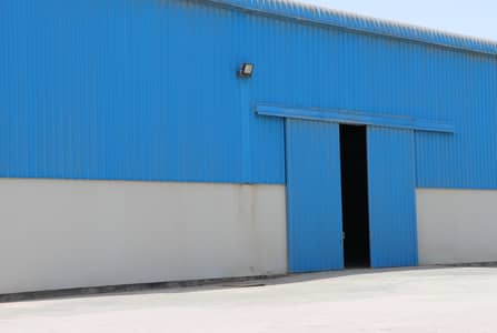 Warehouse for Rent in Mussafah, Abu Dhabi - Open land with warehouse facilities for rent at Mussafah Industrial area AbuDhabi