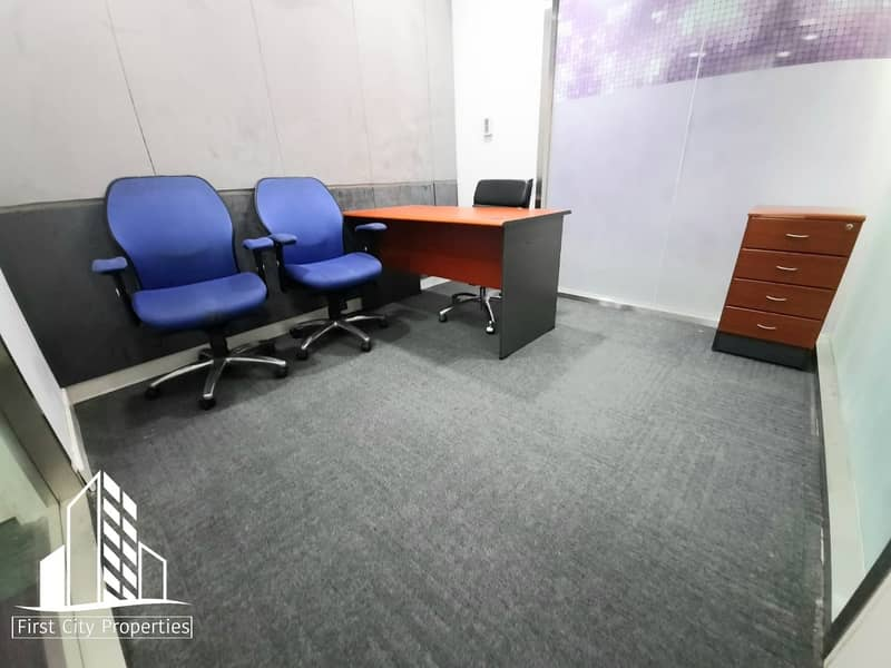 2 Affordable Office Spaces located in Al Khalidiyah