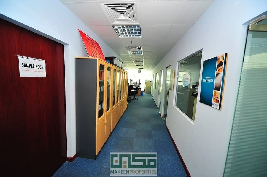 11 Chiller Free! Fitted office for rent Airport Road