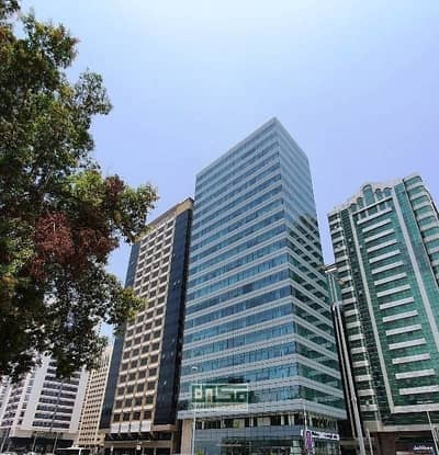 مکتب  للايجار في منطقة النادي السياحي، أبوظبي - No Commission / Fitted office for Rent / Direct from Landlord