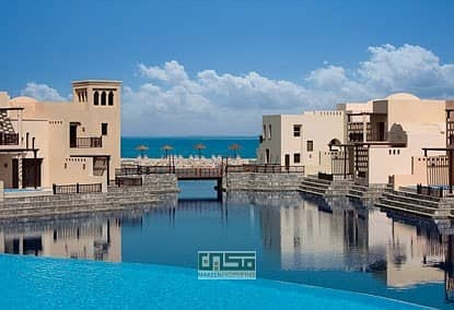 2 Bedroom Villa for Rent in The Cove Rotana Resort, Ras Al Khaimah - 2 bedroom villa with private pool and splendid sea view for rent