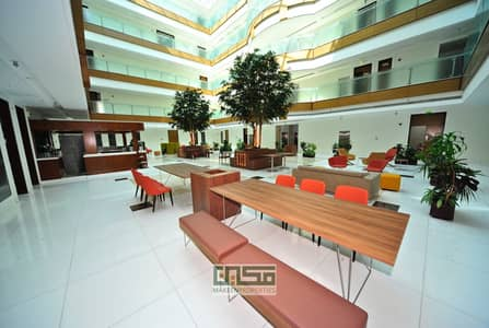 Office for Rent in Al Garhoud, Dubai - 239 sqft fitted office for rent