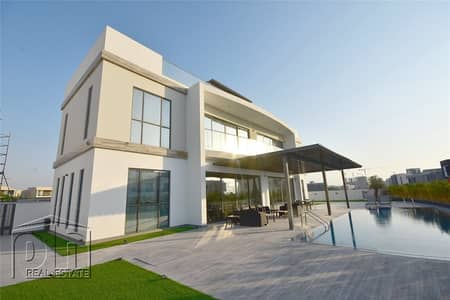 7 Bedroom Villa for Sale in Dubai Hills Estate, Dubai - Stunning custom built home on large private plot