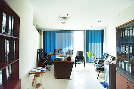 Office for Rent in Business Bay, Dubai - Fitted and Partitioned | Mid Floor | Parking