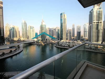 1 Bedroom Flat for Rent in Dubai Marina, Dubai - Full Marina View | Unfurnished | Ready to Move In
