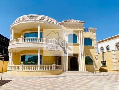 7 Bedroom Villa for Rent in Al Zakher, Al Ain - Private Duplex villa  Huge Balcony
