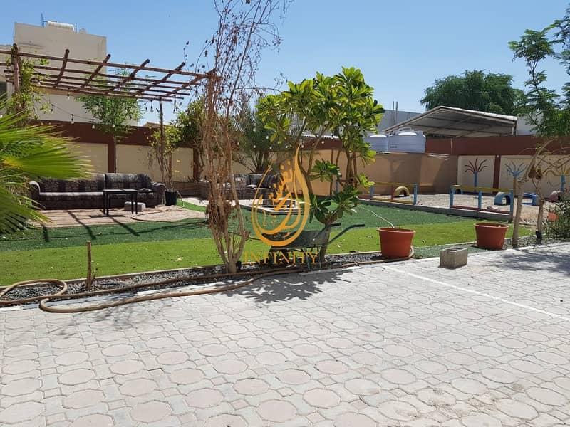 2 Spacious Ten Bedrooms Villa | Outside Kitchen | Outside Mulhaqa/Majlis | Huge Parking | Garden
