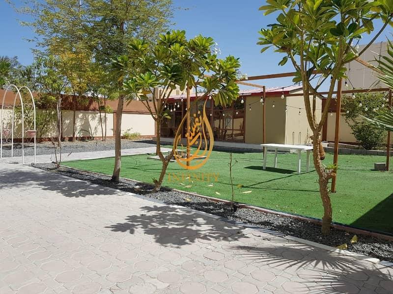 29 Spacious Ten Bedrooms Villa | Outside Kitchen | Outside Mulhaqa/Majlis | Huge Parking | Garden