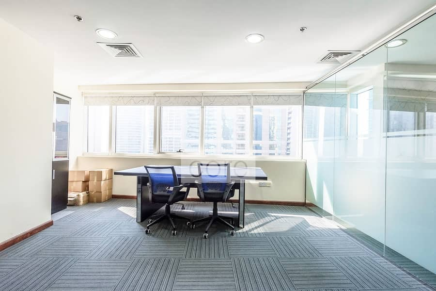 Fitted Office   Mid Floor   DMCC Freezone