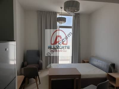 Radiant  fully furnished studio with  free chiller in 22k