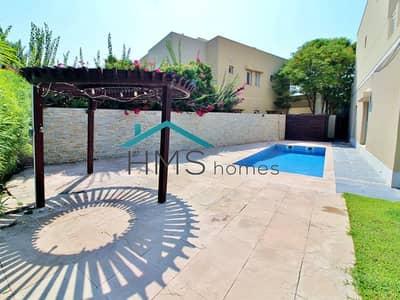 فیلا 6 غرف نوم للايجار في السهول، دبي - Upgraded Type 8 With Golf Views And Private Pool