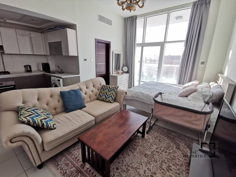 2 Fully Furnished | Large Studio | City View