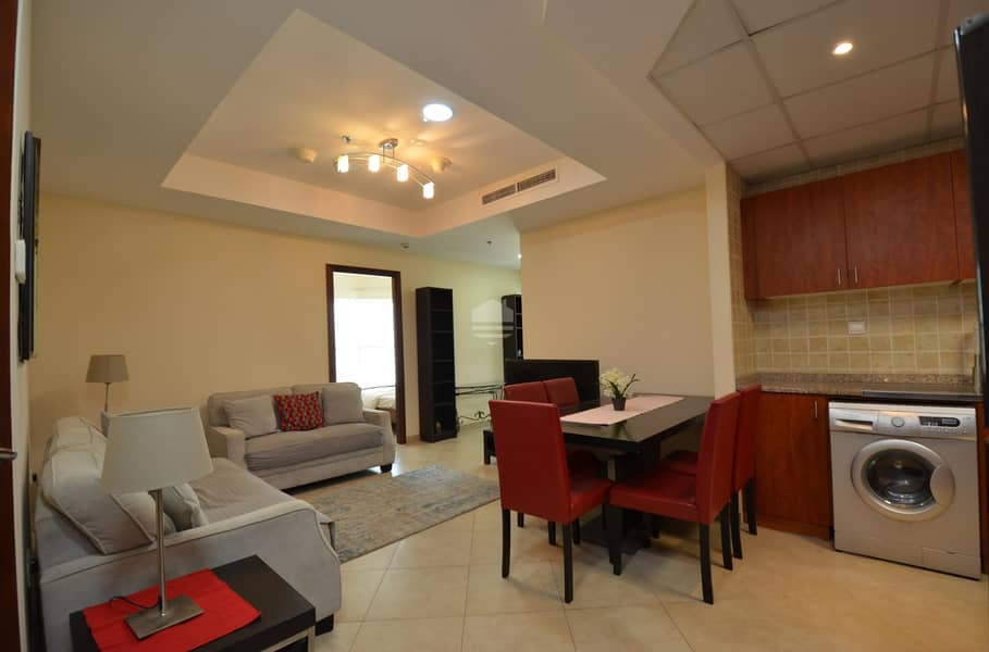 2 Furnished in Multiple Cheques and  Dewa Included