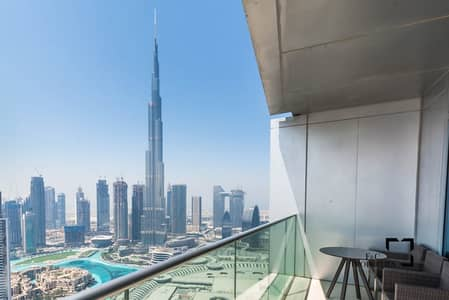 3 Bedroom Apartment for Sale in Downtown Dubai, Dubai - High Floor | Full Burj View | Well maintained