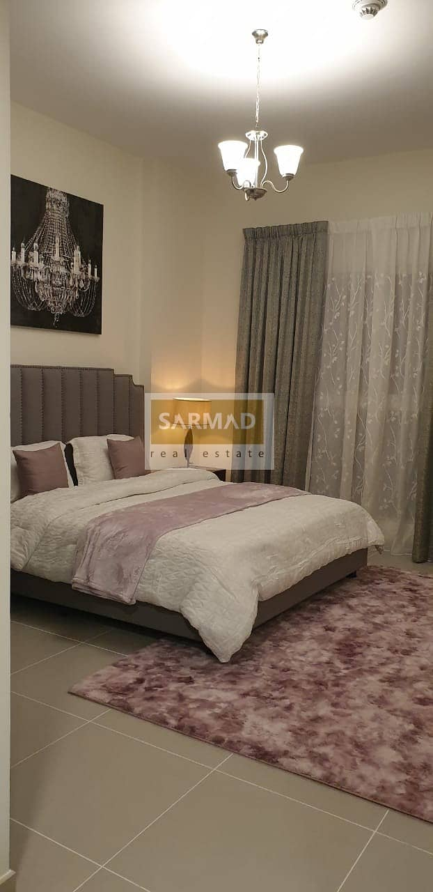 Furnished One Bedroom in Al Manal View in AED 55