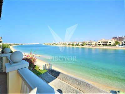 4 Bedroom Villa for Sale in Palm Jumeirah, Dubai - Stunning Sea View-Grand Foyer-Garden Home Villa-Vacant