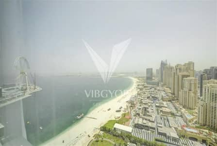 3 Bedroom Flat for Rent in Jumeirah Beach Residence (JBR), Dubai - Sea View | High Floor | Great Condition