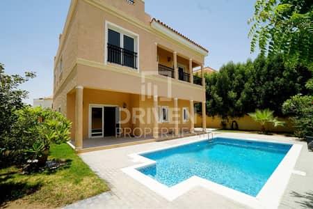 فیلا 5 غرف نوم للايجار في ذا فيلا، دبي - A1 Type | Park Facing Villa with Private Pool